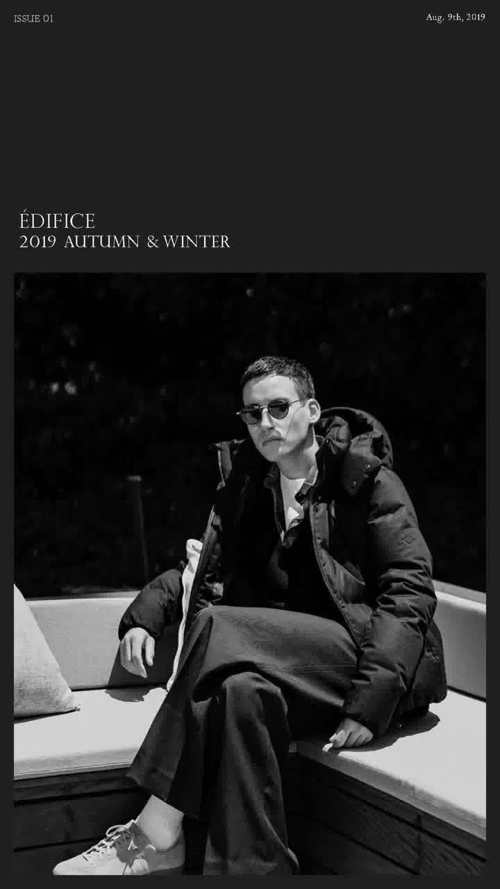 "Baycrew's Co.,Ltd. ""ÉDIFICE 2019 AUTUMN & WINTER"""